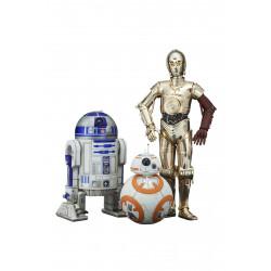 Figurine - Star Wars - ARTFX+ 1/10 17 cm - R2-D2 C-3PO BB-8 - Kotobukiya