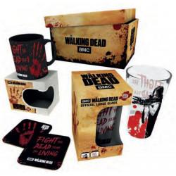 Coffret - The Walking Dead - Bloody hand - Verre + Mug + 2 Sous-Verres - GB Eye