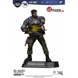 Figurine - Gears of War 4 - Color Tops - Del Walker - McFarlane Toys