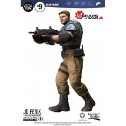 Figurine - Gears of War 4 - Color Tops - JD Fenix - McFarlane Toys