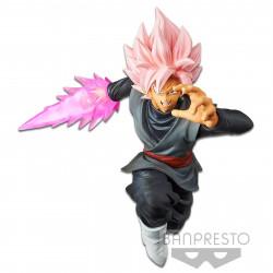 Figurine - Dragon Ball Super - Shin Retsuzan - Black Goku Rose - Banpresto