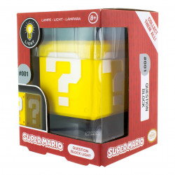 Lampe - Super Mario Bros. - Question Block 3D Light - Paladone Products