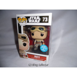Figurine - Pop! Movies - Star Wars - Rey Exclusive - Vinyl - Funko