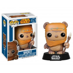 Figurine - Pop! Movies - Star Wars - Wicket - Vinyl Figure - Funko