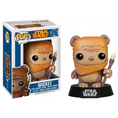 Figurine - Pop! Movies - Star Wars - Wicket - Vinyl Figure - Funko