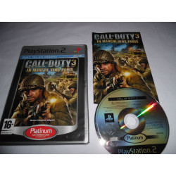 Jeu Playstation 2 - Call of Duty : En Marche vers Paris (Platinum) - PS2