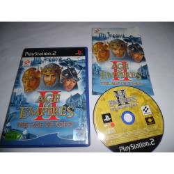 Jeu Playstation 2 - Age of Empires II : The Age of Kings - PS2
