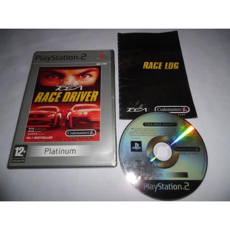 Jeu Playstation 2 - TOCA Race Driver (Platinum) - PS2