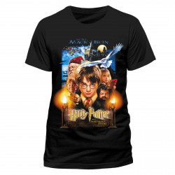 T-Shirt - Harry Potter - Sorcerer's Stone Movie Poster - CID