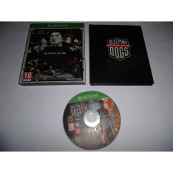 Jeu Xbox One - Sleeping Dogs Definitive Edition