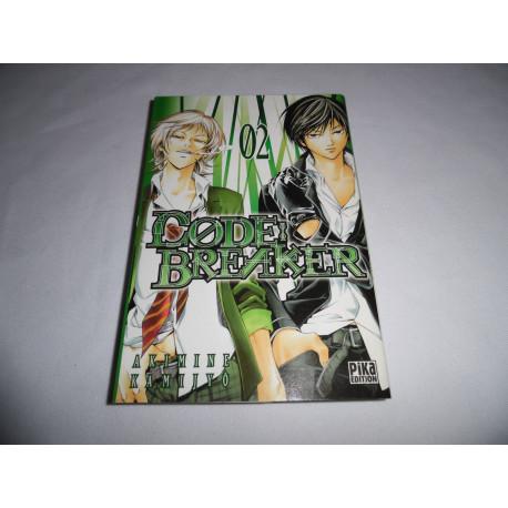 Manga - Code : Breaker - No 02 - Akimine Kamijo - Pika