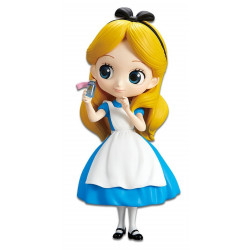 Figurine - Disney - Posket Q - Alice Thinking Time ver- Banpresto