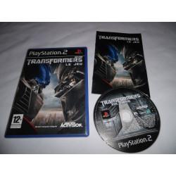Jeu Playstation 2 - Transformers le jeu - PS2