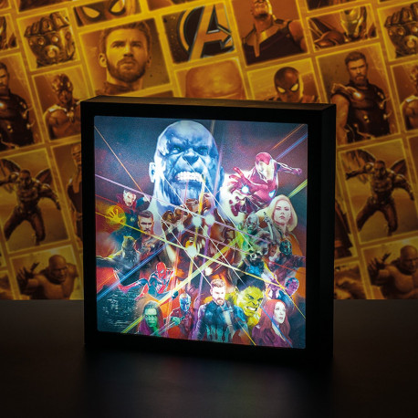Lampe - Marvel - Avengers Infinity War Luminart - Paladone Products