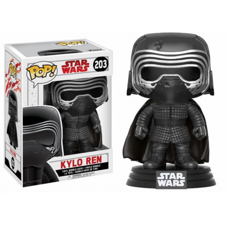 Figurine - Pop! Movies - Star Wars 8 - Kylo Ren Masked - Vinyl - Funko