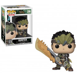 Figurine - Pop! Games - Monster Hunters - Male Hunter - Vinyl - Funko