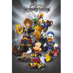 Poster - Kingdom Hearts - Classic - 61 x 91 cm - Pyramid International