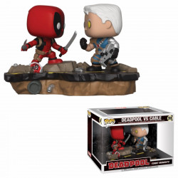 Figurine - Pop! Marvel - Deadpool - Deadpool vs Cable - Vinyl - Funko