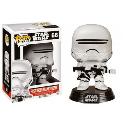 Figurine - Pop! Movies - Star Wars - First Order Flametrooper - Vinyl - Funko