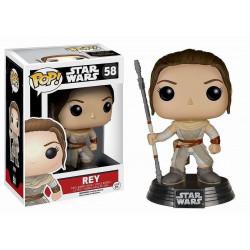 Figurine - Pop! Movies - Star Wars - Rey - Vinyl - Funko