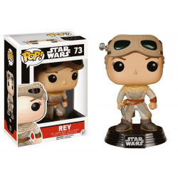 Figurine - Pop! Movies - Star Wars - Rey Exclusive - Vinyl - Funko