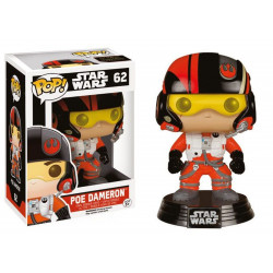 Figurine - Pop! Movies - Star Wars - Poe Dameron - Vinyl - Funko