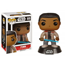 Figurine - Pop! Movies - Star Wars - Finn with Lightsaber - Vinyl - Funko
