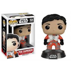 Figurine - Pop! Movies - Star Wars - Poe Dameron (No Helmet) - Vinyl - Funko
