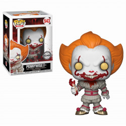 Figurine - Pop! Movies - It - Pennywise with Severed Arms - Vinyl - Funko