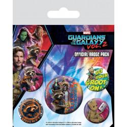Badge - Marvel - Les Gardiens de la Galaxie vol 2 - Pyramid International