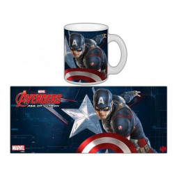 Mug / Tasse - Marvel - Avengers 2 : Age of Ultron - Captain America - Semic