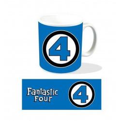 Mug / Tasse - Marvel - Fantastic Four / 4 Fantastiques Logo - Titan Merchandise