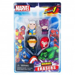 Pack de 4 Gommes - Marvel - Set D - Marvel Universe Erasers - Monogram