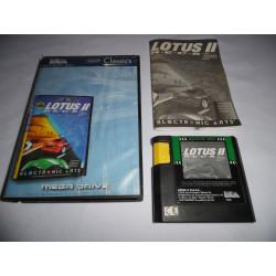 Jeu Mega Drive - Lotus II R.E.C.S