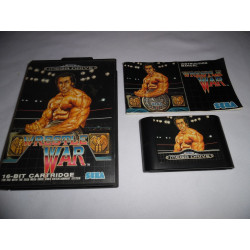 Jeu Mega Drive - Wrestle War