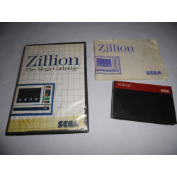 Jeu Master System - Zillion