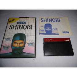 Jeu Master System - Shinobi