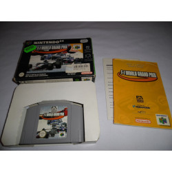 Jeu Nintendo 64 - F-1 World Grand Prix - N64