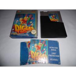 Jeu NES - Digger T. Rock