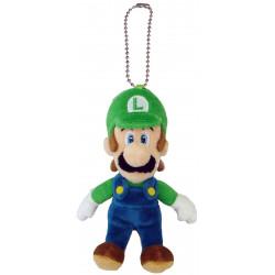 Peluche / Porte Clé - Super Mario Bros. - Luigi - 12 cm - Little Buddy Toys