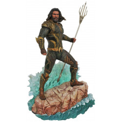 Figurine - DC Gallery - Justice League - Aquaman - Diamond Select