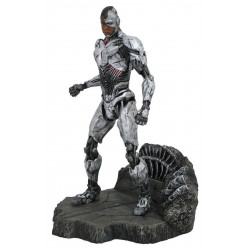 Figurine - DC Gallery - Justice League - Cyborg - Diamond Select