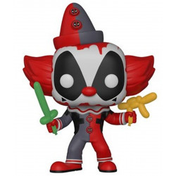 Figurine - Pop! Marvel - Deadpool - Deadpool Clown - Vinyl - Funko