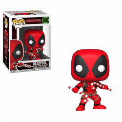 Figurine - Pop! Marvel - Deadpool - Holiday Deadpool Candy Canes - Vinyl - Funko