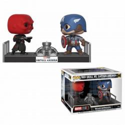 Figurine - Pop! Marvel - Movie Moments - Captain America & Red Skull - Vinyl - Funko