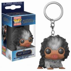 Porte-clé - Pocket Pop! Keychain - Les Animaux Fantastiques 2 - Black White Baby Niffler - Funko