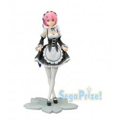 Figurine - RE Zero - Rem Curtsey Ver. Premium Figure - SEGA