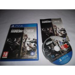 Jeu Playstation 4 - Tom Clancy's Rainbow Six Siege - PS4