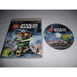 Jeu Playstation 3 - Lego Star Wars III : The Clone Wars - PS3