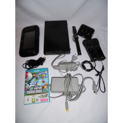 Console - Nintendo Wii U - Cables + Manettes